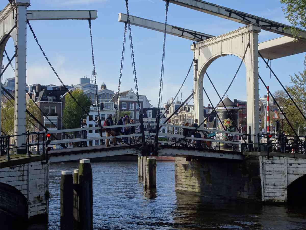 Kurztrip Amsterdam Ziehbrücke